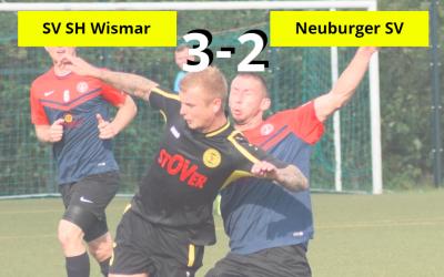 Unnötige Niederlage in Wismar
