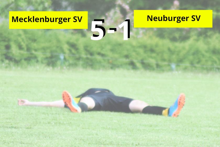 Niederlage in Mecklenburg