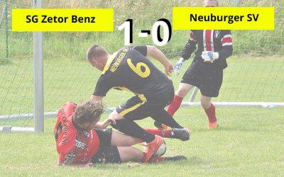 Last-Minute-Sieg für Benz